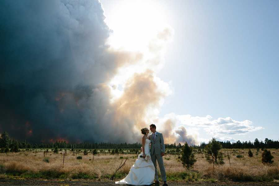 """Michael Wolber called it """"the most beautiful ceremony either of us could have ever imagined."""" He and his wife, April Hartley, live in Aloha and both work at Nike."""