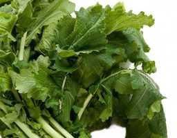 #11 Turnip Greens: 62.12 nutrient density score.