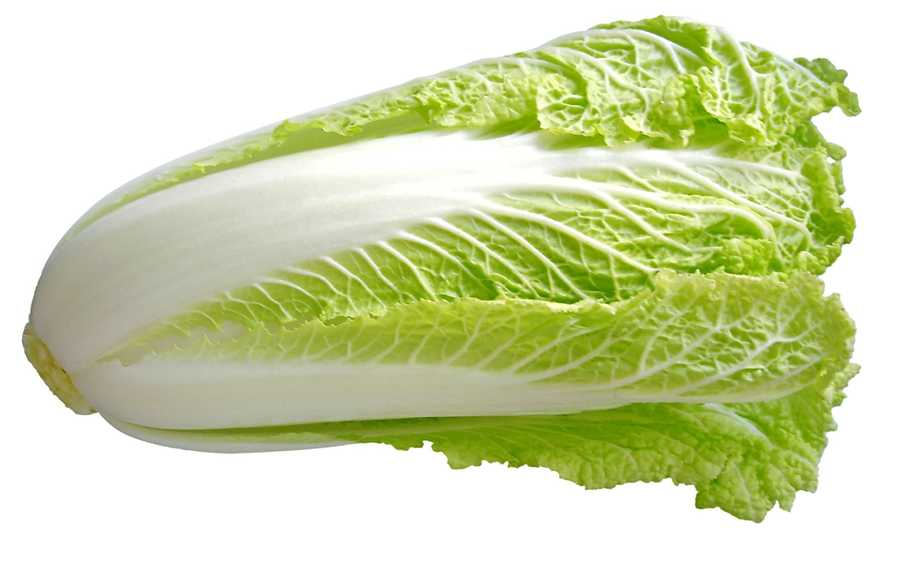 #2 Chinese Cabbage: 91.99 nutrient density score.