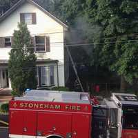 Firefighters found what appears in be a marijuana growing operation when they responded to a building fire early Wednesday, police said.