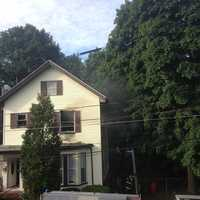 After the fire was extinguished, police said crews found what appeared to be marijuana plants throughout the apartment.