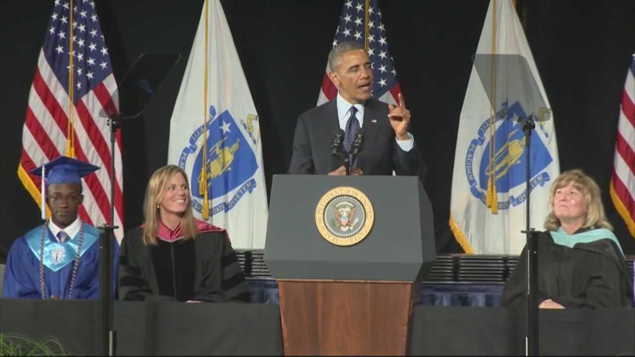 Graduates 'wicked excited' to have Pres. Obama speak at graduation