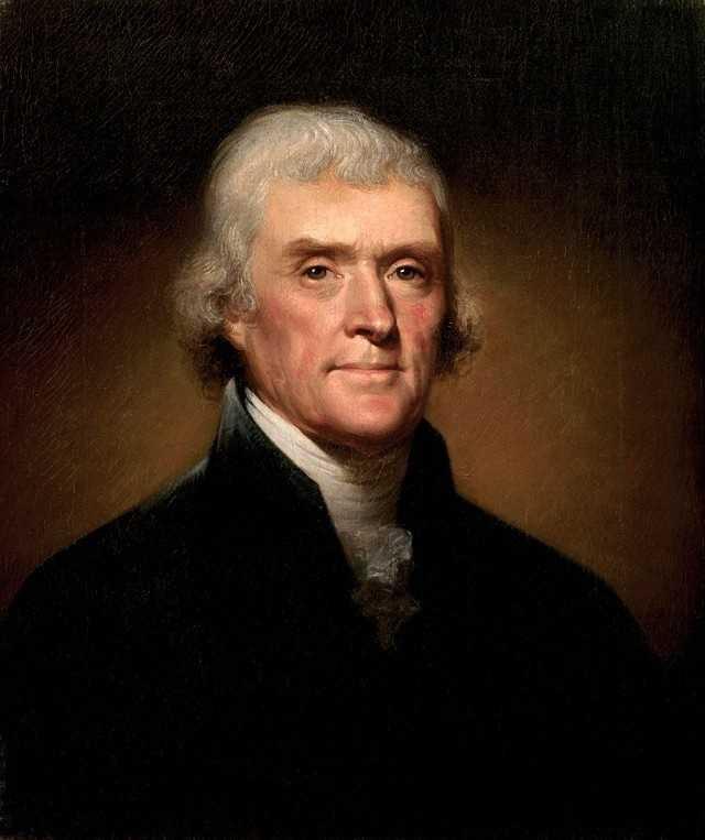 9. Thomas Jefferson&#x3B; 83 years, 82 days&#x3B; died July 4, 1826