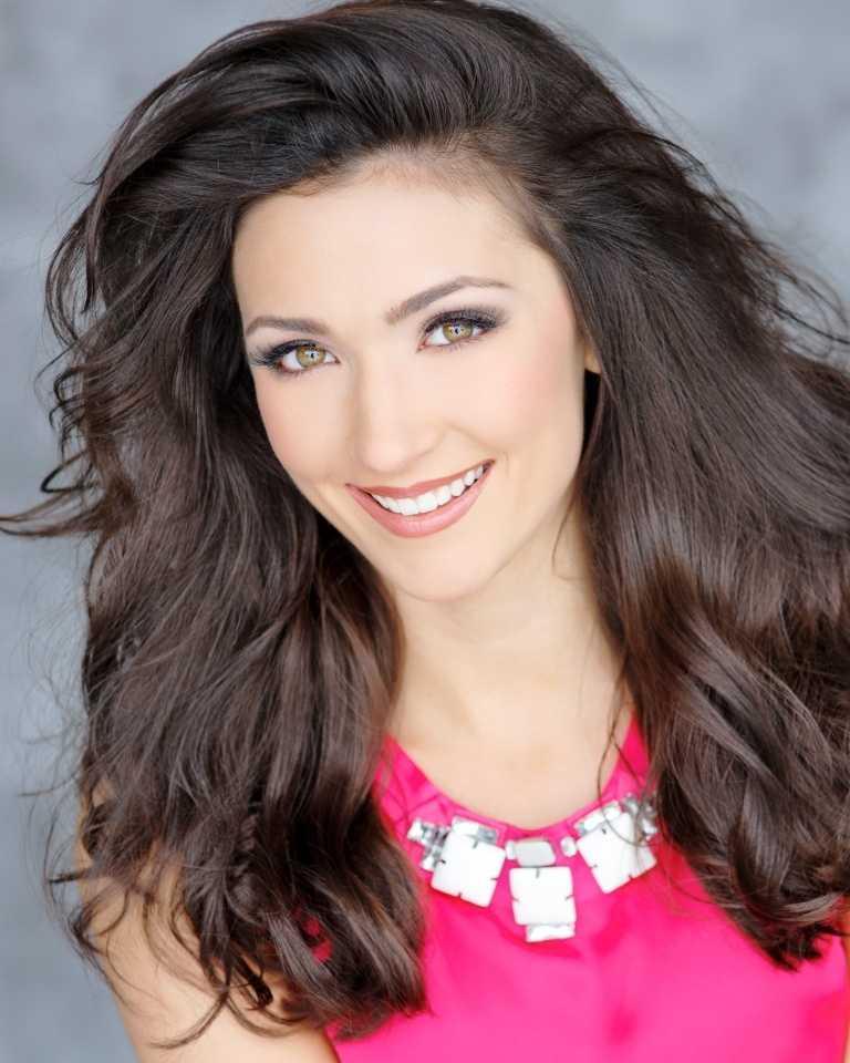 Third runner up: Meagan Fuller of Attleboro, competing as Miss Boston