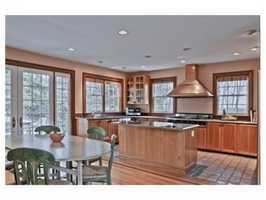 kitchen with premium appliances