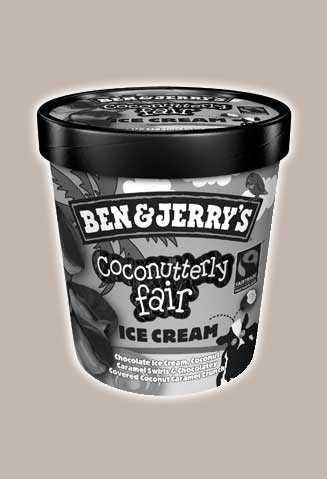 Coconutterly Fair2011 – 2012Chocolate Ice Cream with Coconut Caramel Swirls & a Chocolatey Covered Coconut Caramel Crunch.