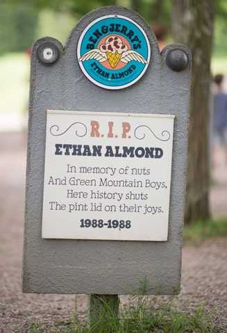 Ethan Almond1988 – 1988Vanilla Ice Cream with Chocolate Covered Almonds.