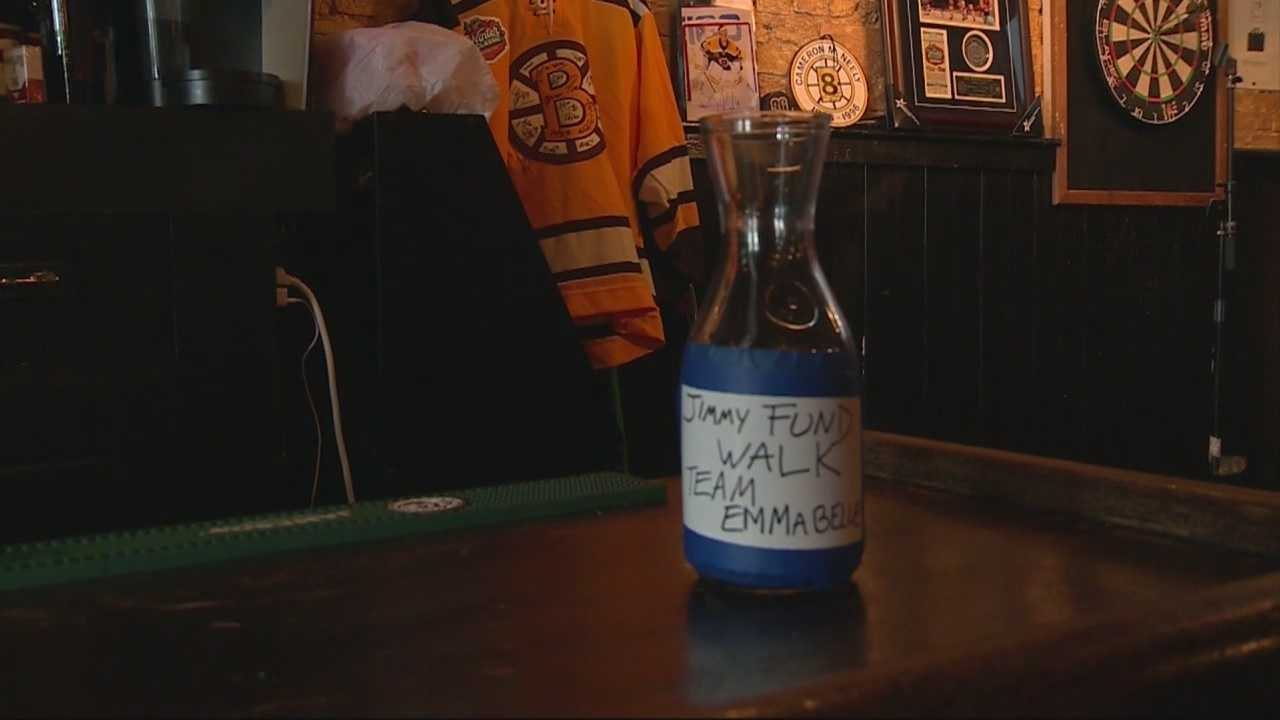 Happy ending after Jimmy Fund can stolen from bar