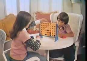 """""""Pretty sneaky sis."""" Connect Four"""