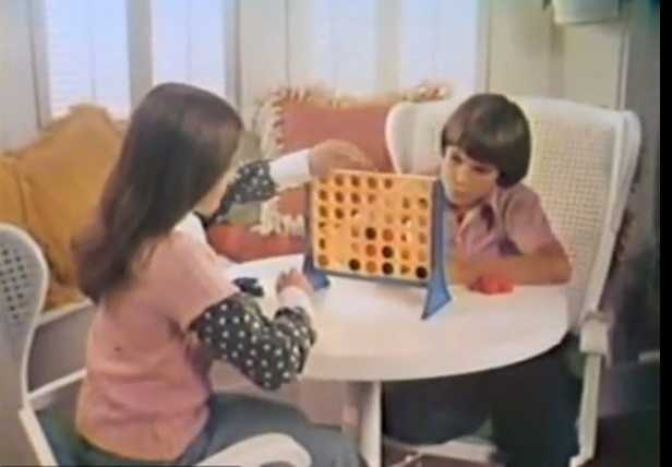 """Pretty sneaky sis."" Connect Four"