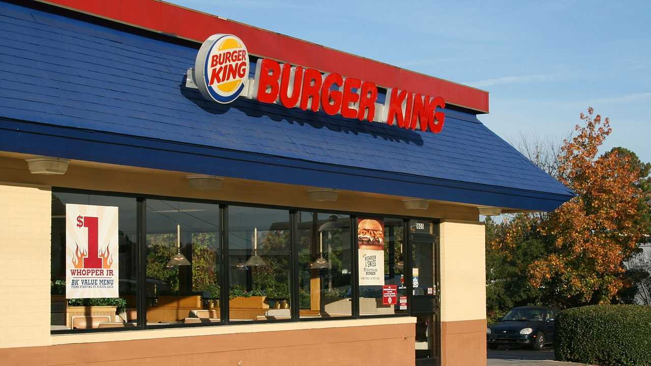 #7 (tie) Burger King received a score of 76 on the American Consumer Satisfaction Index.