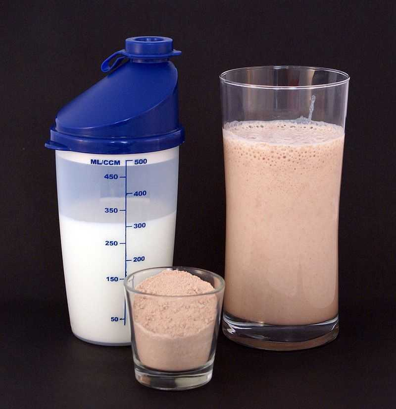 12.) Whey protein
