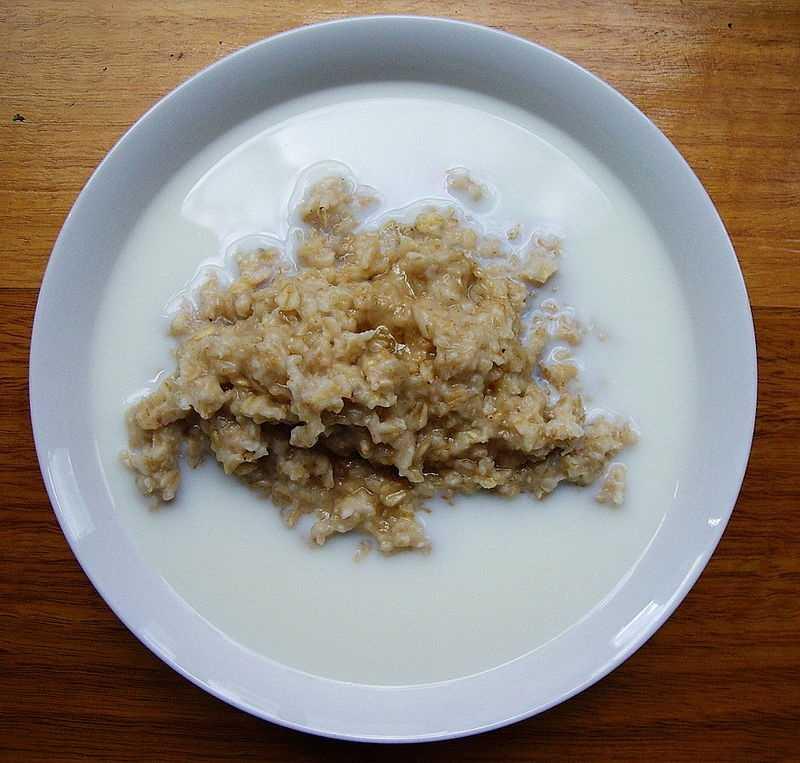 10.) Oatmeal