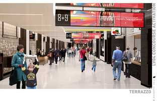 Delaware North, the owner and operator of TD Garden and Sportservice, announced Thursday the design and details of the concourse phase of a $70 million renovation project currently underway at TD Garden.