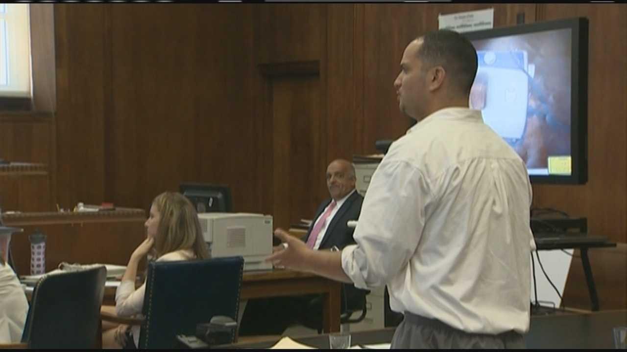 Rape suspect defending himself in court