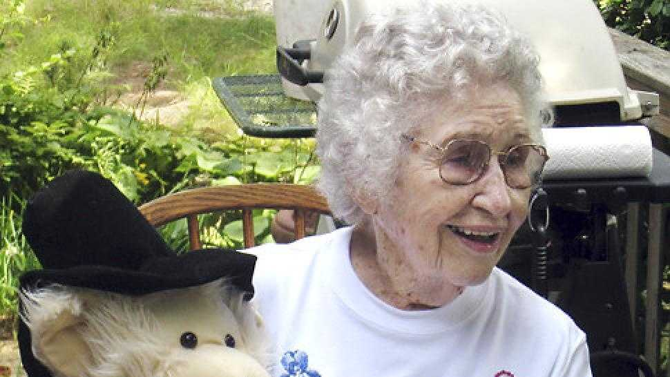 Elizabeth Barrow, 100, was found strangled in her bed. Her roommate Laura Lundquist faces charges.