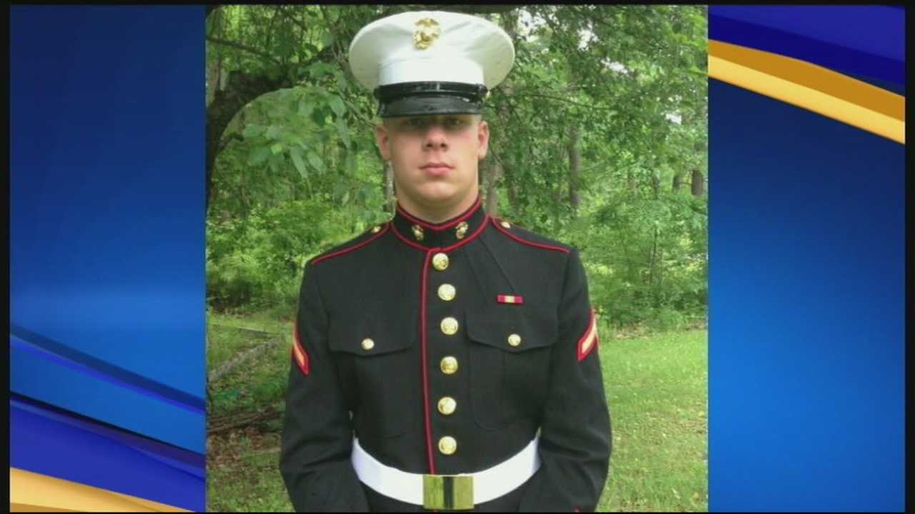 Temple Firefighters Remember Marine Killed In Afghanistan
