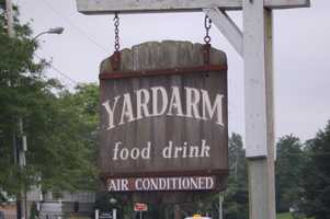 "Our Facebook friends also suggested the Yardarm Restaurant in Orleans for good chowder. It's been described as ""The closest thing that Cape Cod has to an authentic European pub."""