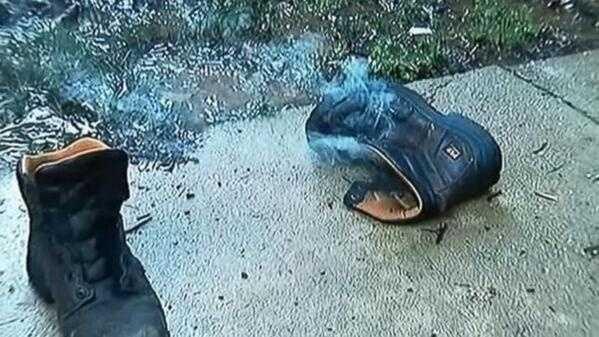 Smoking boots
