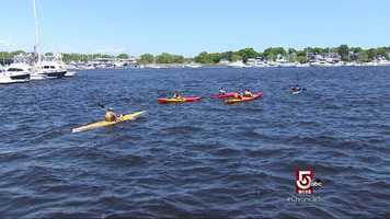 Plum Island Kayak is holding more and more bachelor parties.