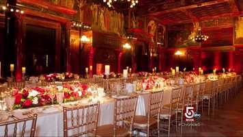Maybe people are unaware they can have a wedding at the Boston Public Library.