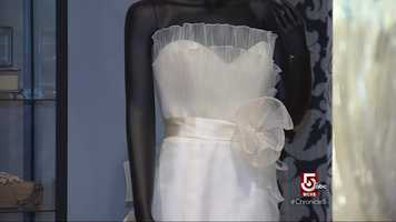 Brides travel from all over the world to Vows to save money on a wedding dress.