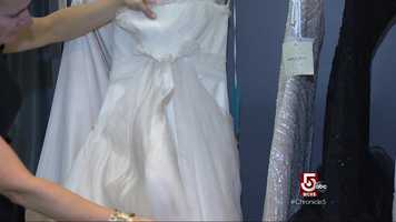 Deals on designer dresses can be found at the store.