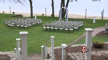 Many couple choose to have a wedding on Herring Pond in Plymouth.