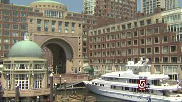 The Boston Harbor Hotel is an elegant place for a wedding.