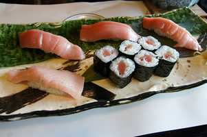 Fresh tuna-linked with 269 outbreaks involving 2,341 reported cases of illness between 1990 and 2009.