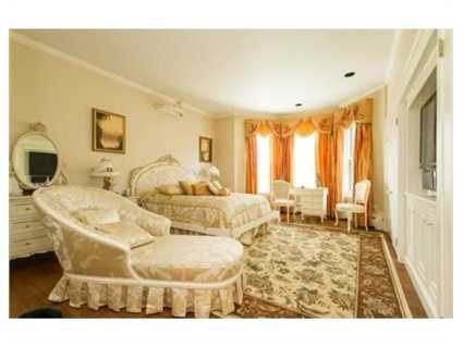 The home has five bedrooms.