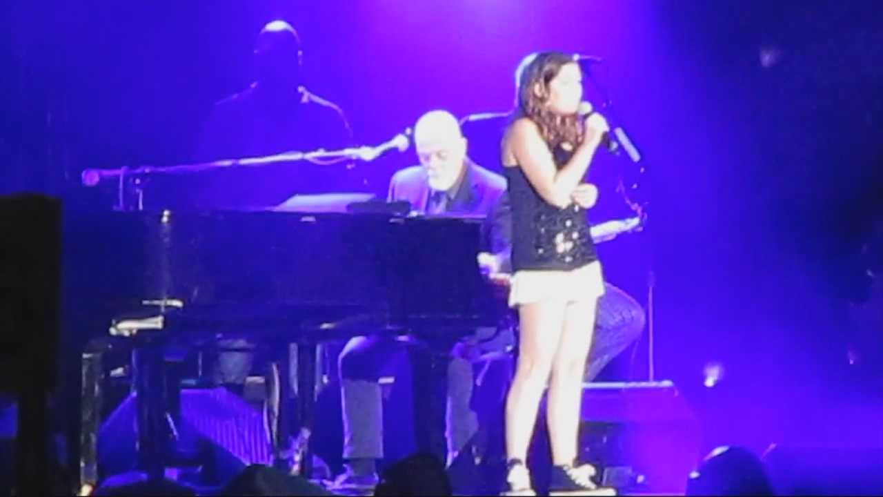 Teen who sang with Billy Joel calls experience 'surreal'