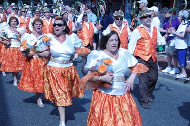 On Saturday, the annual Portuguese Festival and parade was held.