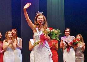 Lauren Kuhn, 23, of Boston, was selected as Miss Massachusetts 2014.