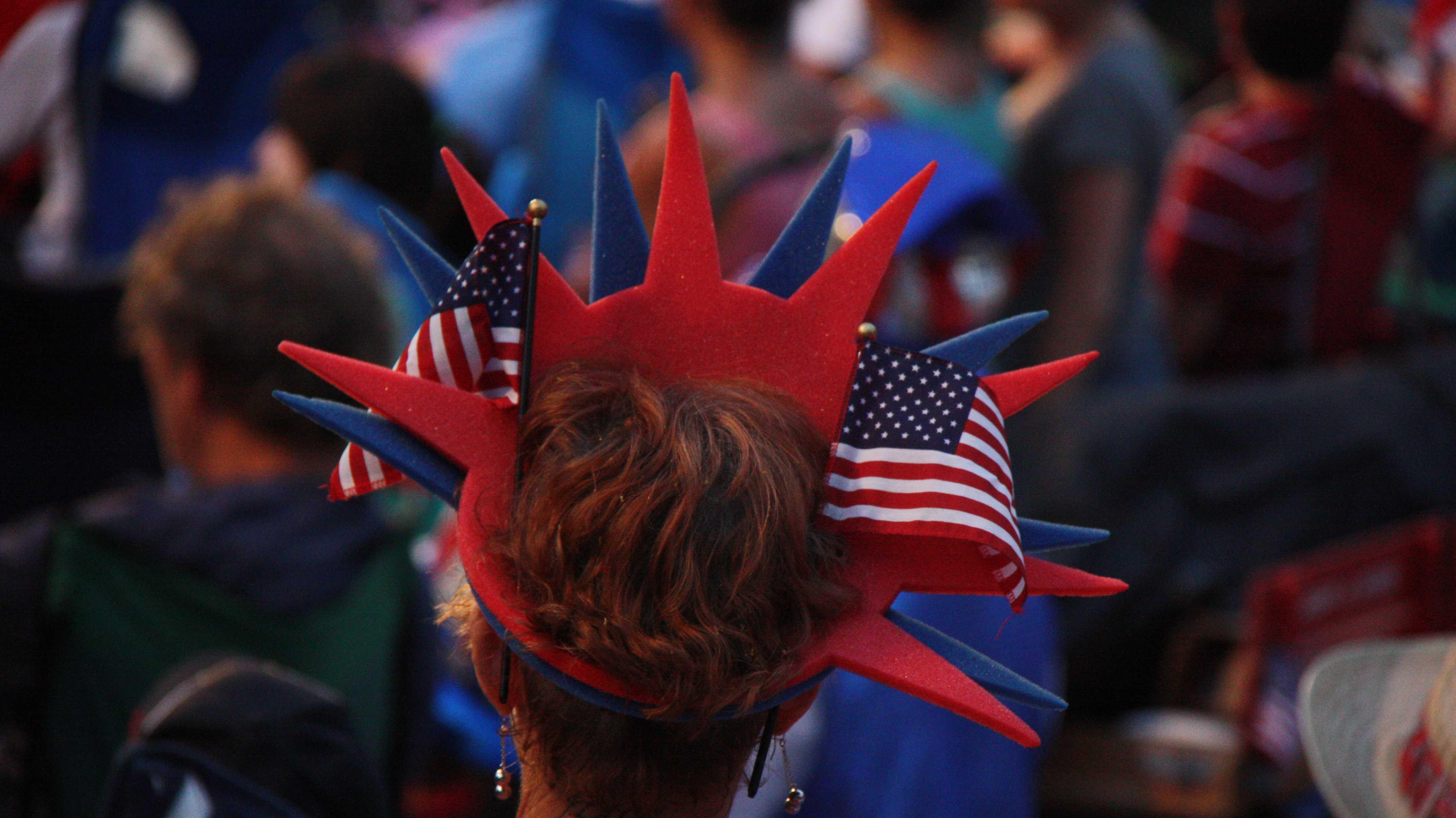 Esplanade Patriotic Hat 2012