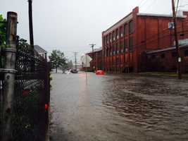 Belleville Ave. and Hatch St. in New Bedford.