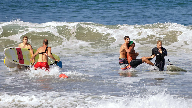 Calif Great White Shark Attack 7.5