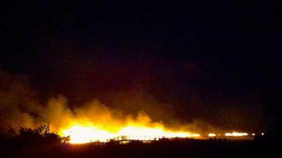 Chatham Fireworks Fire 7.6.14