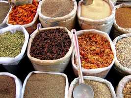 Skip the grocery store spices completely and head to the nearest health-food store where spices are sold in bulk. Buy just a small amount at a time -- it's much cheaper and keeps your spices fresher.