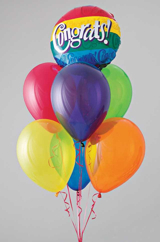 6. Party supplies: A trip to the dollar store is a must for party planning. You can buy just about everything you need there, from candles to cheap plastic tablecloths to helium balloons.