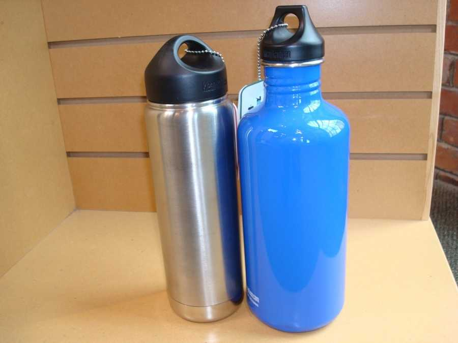 A better alternative is to buy several stainless steel water bottles and store them in the refrigerator for on-the-go use.