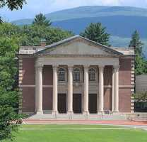 #6 Williams College (Massachusetts). Tuition and fees totaled $44,920 for the 2012-13 school year, according the the U.S. Department of Education.