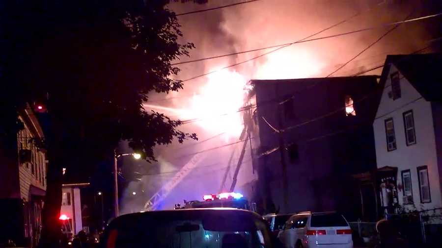 Fire authorities say seven people have died in an early morning fire in a Lowell apartment building.