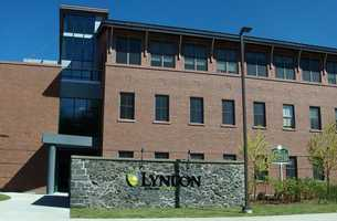 #18 (tie) Lyndon State College (Vermont)  $9,864 for tuition and fees for the 2012-13 academic year according to the U.S. Department of Education.
