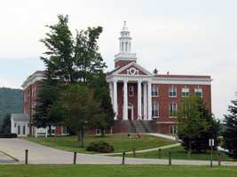 #18 (tie) Castleton State College (Vermont)  $9,864 for tuition and fees for the 2012-13 academic year according to the U.S. Department of Education.