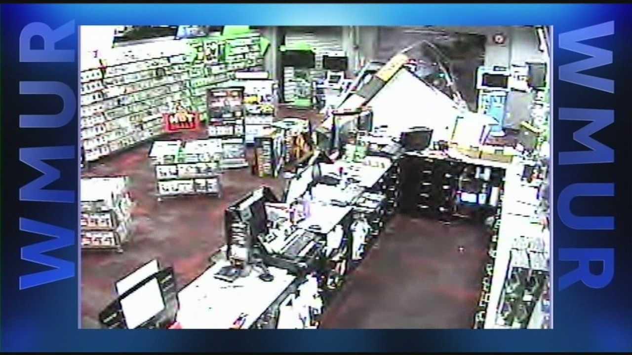 Car crashes through window of Salem store