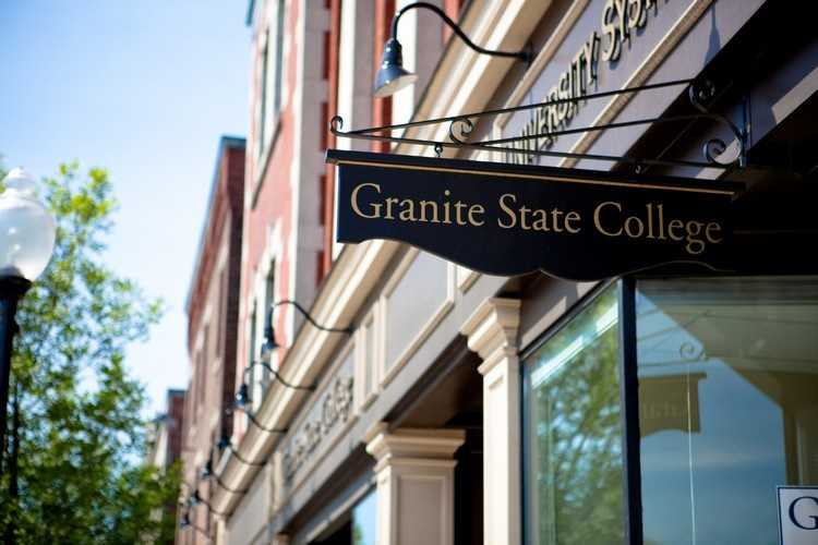 #1 Granite State University (New Hampshire) $7,065 for tuition and fees for the 2012-13 academic year according to the U.S. Department of Education.