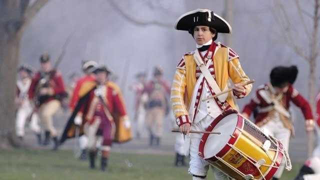 A re-enactment of the first battle of the American Revolutionary War takes place every year in Lexington and Concord, Mass.
