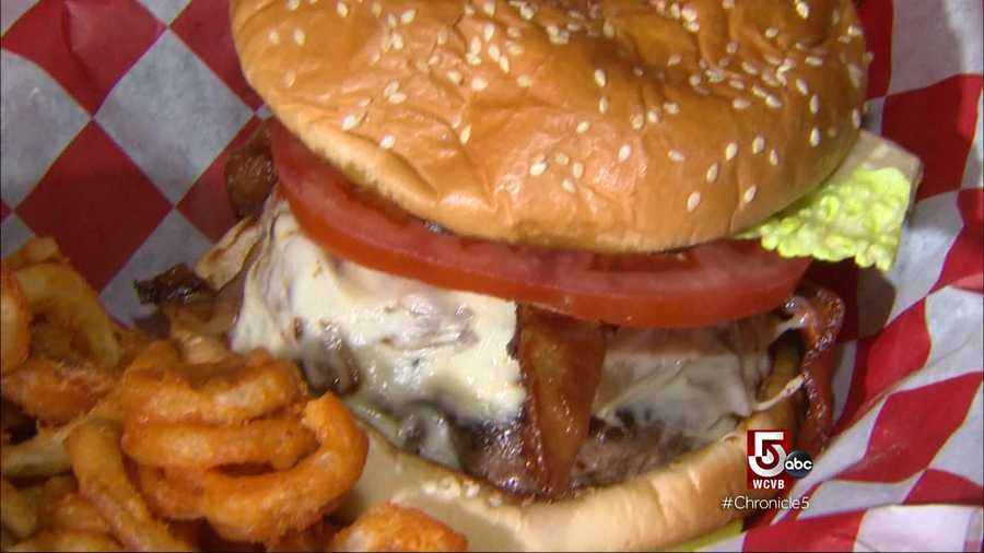 That's exactly what they serve at the recently-opened KKatie's burger Bar in Marshfield.