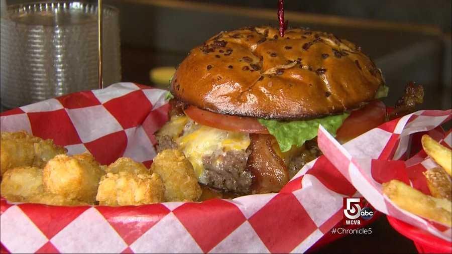 KKatie's has roughly 18 different burger combos.